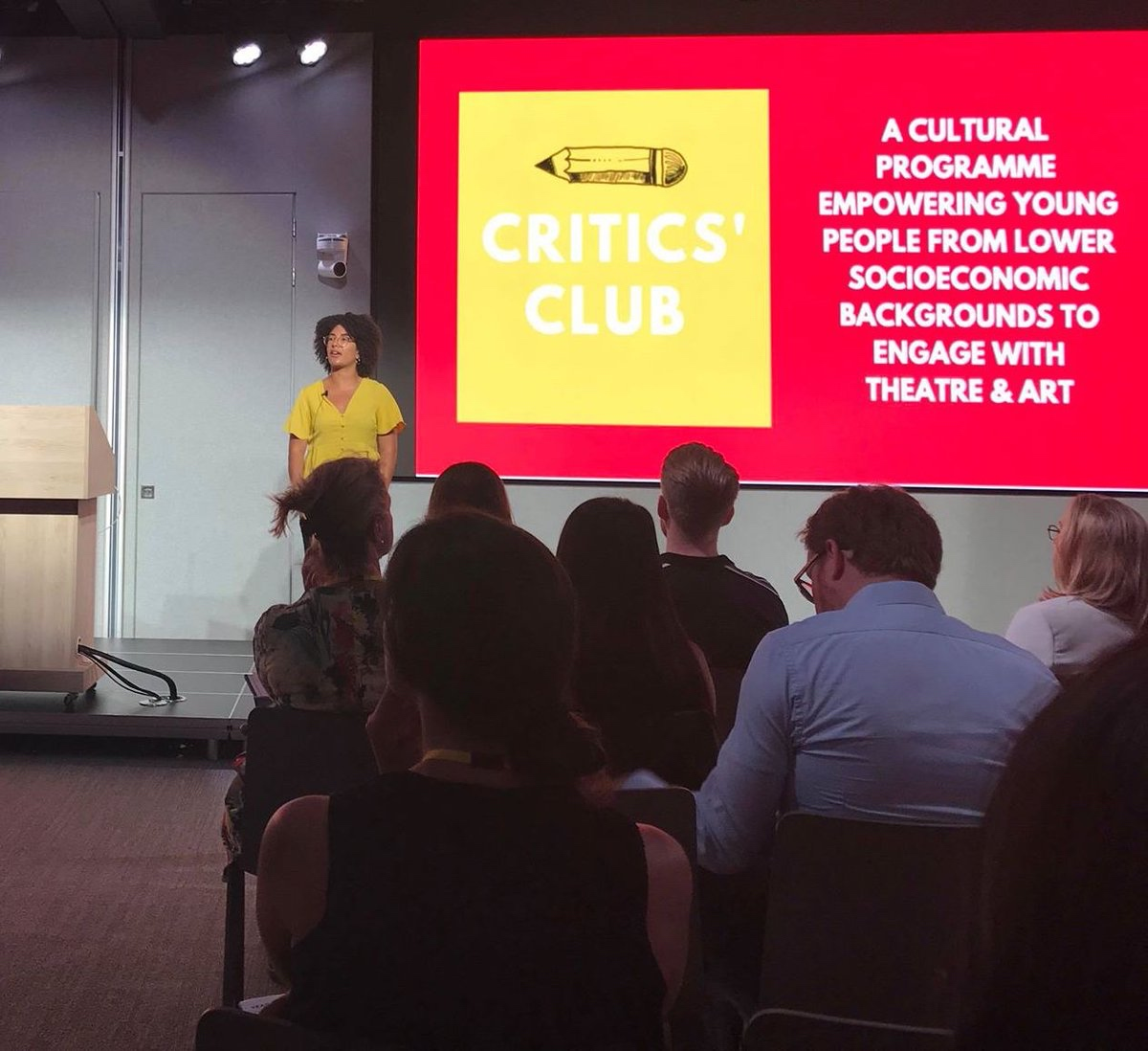 Pitch by Yasmin Ibison at Critics Club